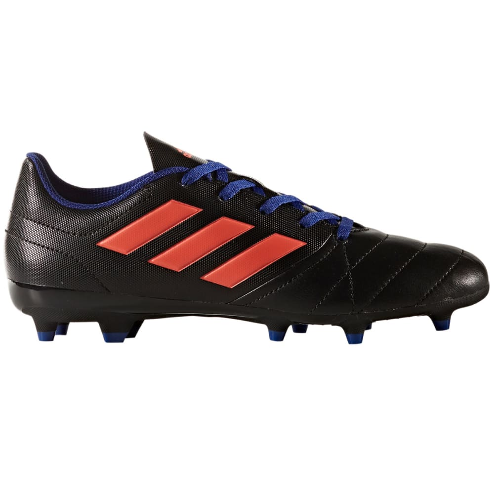 Adidas Women's Ace 17.4 Firm Ground Soccer Cleats, Black/easy Coral/mystery Ink