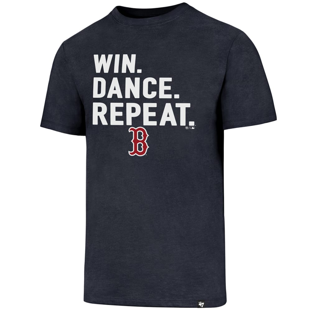 BOSTON RED SOX Men's Win Dance Repeat '47 Club Short-Sleeve Tee - NAVY