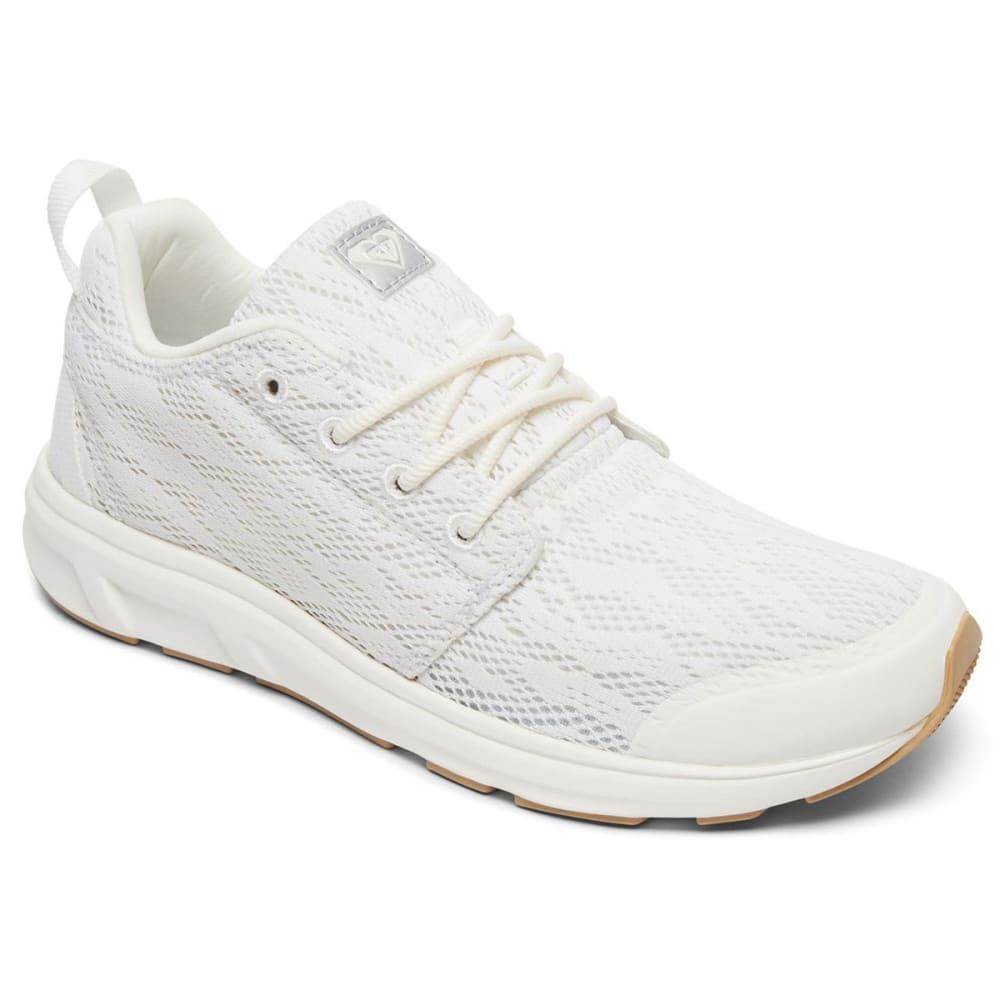 Roxy Women's Set Session Ii Sneakers - White, 6.5