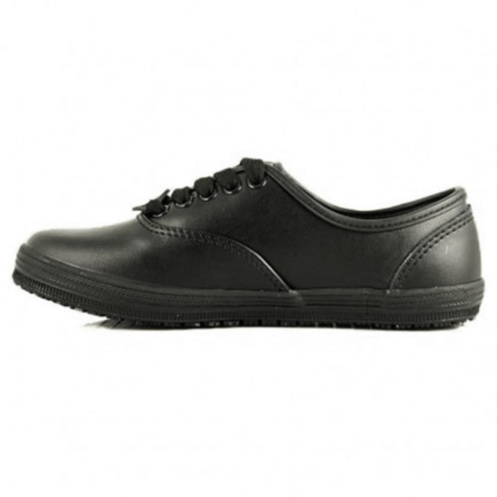LAFORST Women's Sassy Slip-Resistant Casual Work Shoes, Black - BLACK