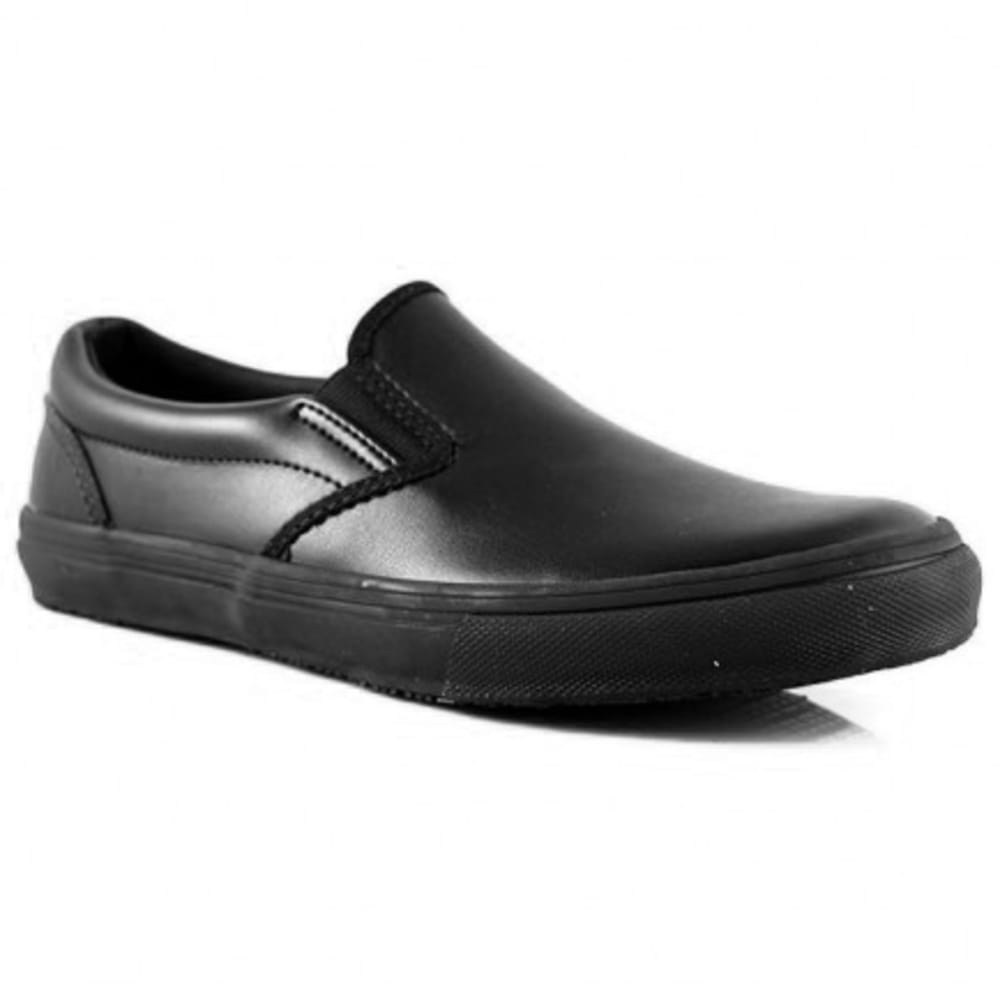 LAFORST Women's Cindy Slip Resistant Work Shoes, Black 6.5