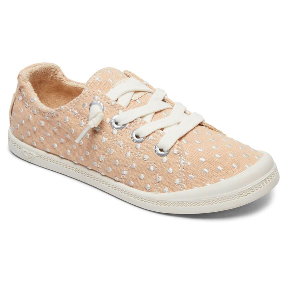 ROXY Girls' Bayshore III Lace-Up Casual Shoes - BLUSH