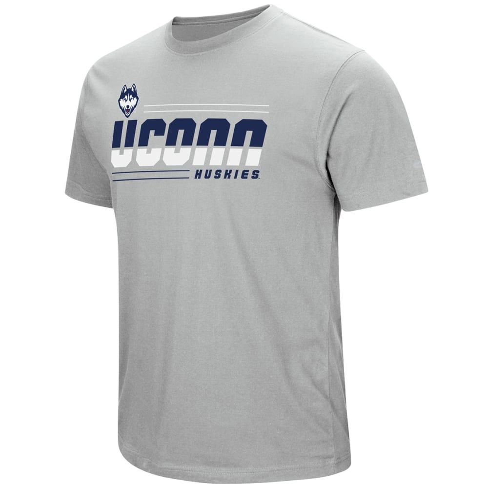 UCONN Men's Throw The Hammer Short-Sleeve Tee - NAVY/CHARCOAL