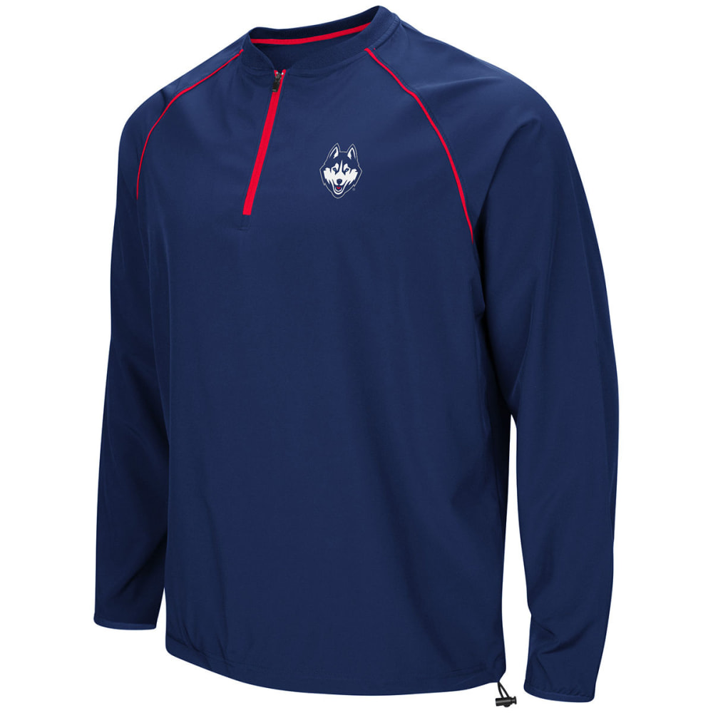 UCONN Men's Bigs ¼-Zip Windshirt - NAVY