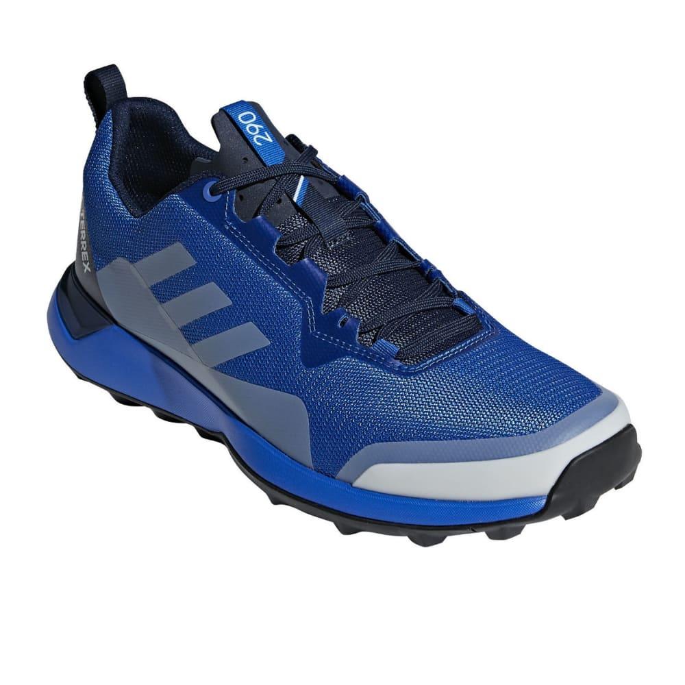 ADIDAS Men's Terrex CMTX Hiking/Trail Running Shoes, Black - BLUE BEAUTY/GREY ON