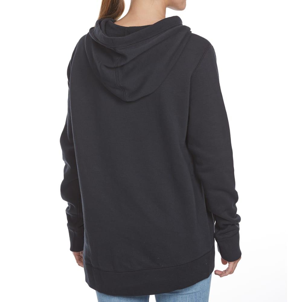 UNDER ARMOUR Women's Favorite Fleece Wordmark Pullover Hoodie - BLACK-001