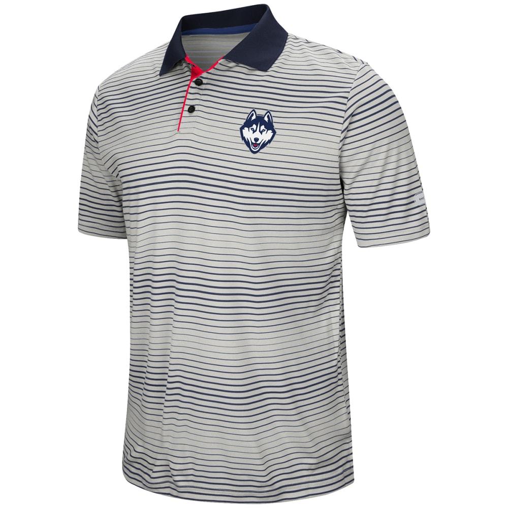 UCONN Men's Lesson Number One Short-Sleeve Polo Shirt - WHITE