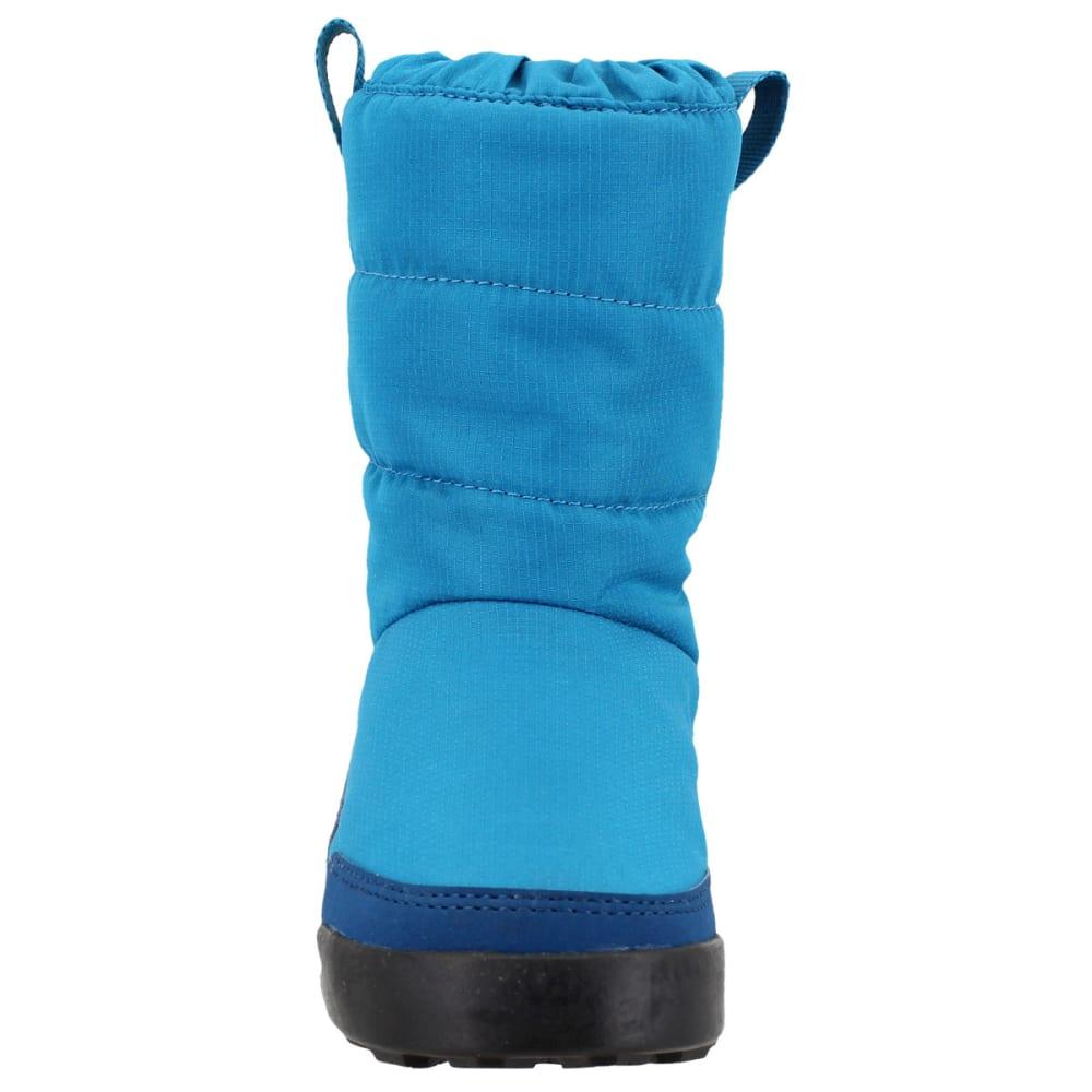 ADIDAS Kids' Snowpitch Slip-On Outdoor Shoes, Mystery Petrol/Blue Night/Semi Solar Yellow - PETROL/BLUE/YELLOW