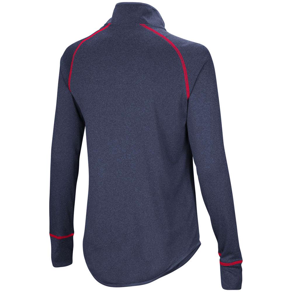 UCONN Women's Kit 1/4 Zip Pullover - NAVY