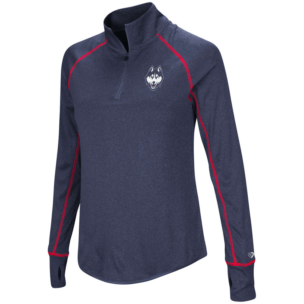 UCONN Women's Kit ¼-Zip Pullover - NAVY