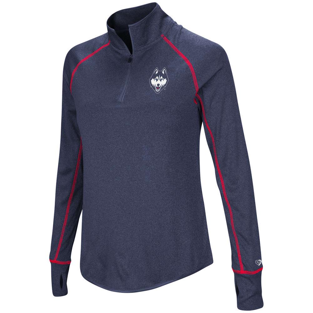 UCONN Women's Kit ¼-Zip Pullover - NAVY