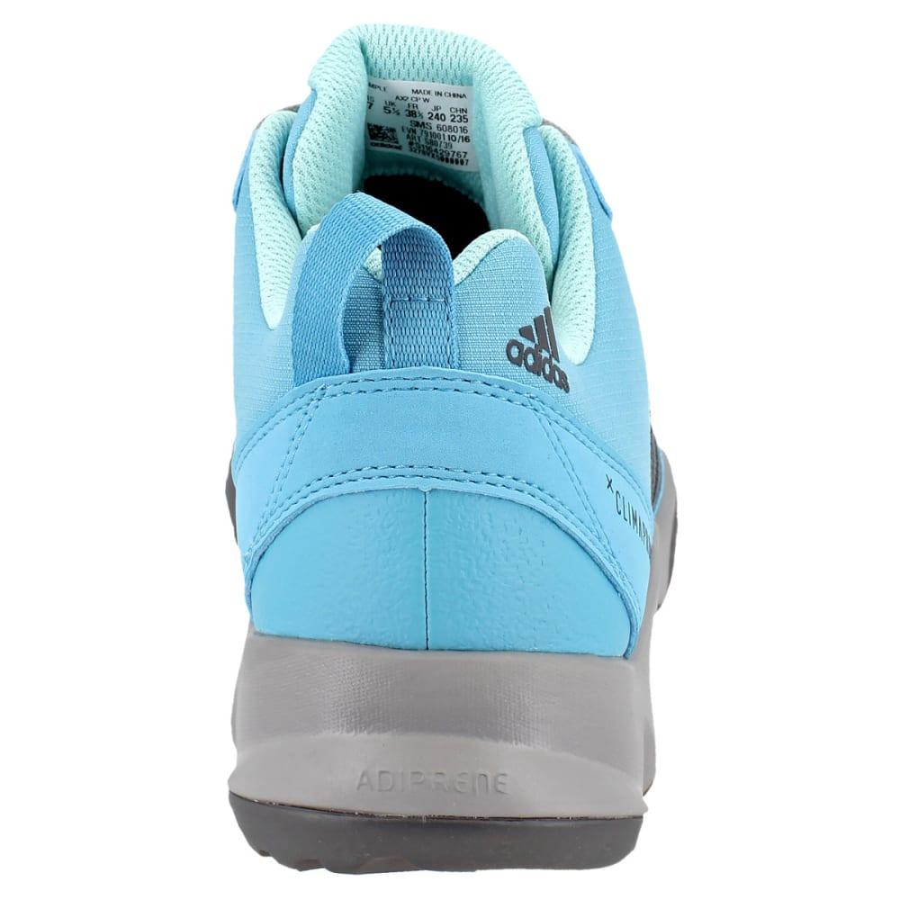 ADIDAS Women's AX2 ClimaProof Hiking Shoes, CH Solid Grey/Vapor Blue/Grey Five - GREY/BLUE/GREY