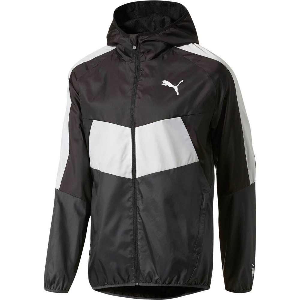 PUMA Men's Essential Windbreaker Jacket - PUMA BLACK-01