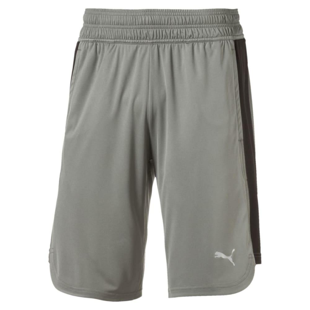 PUMA Men's Energy Essential Shorts - CASTOR GRAY-02