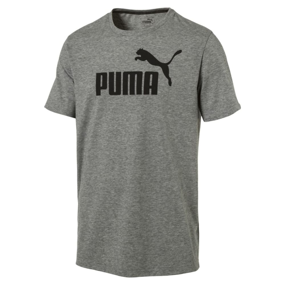 Puma Men's No.1 Heather T-Shirt - Black, L