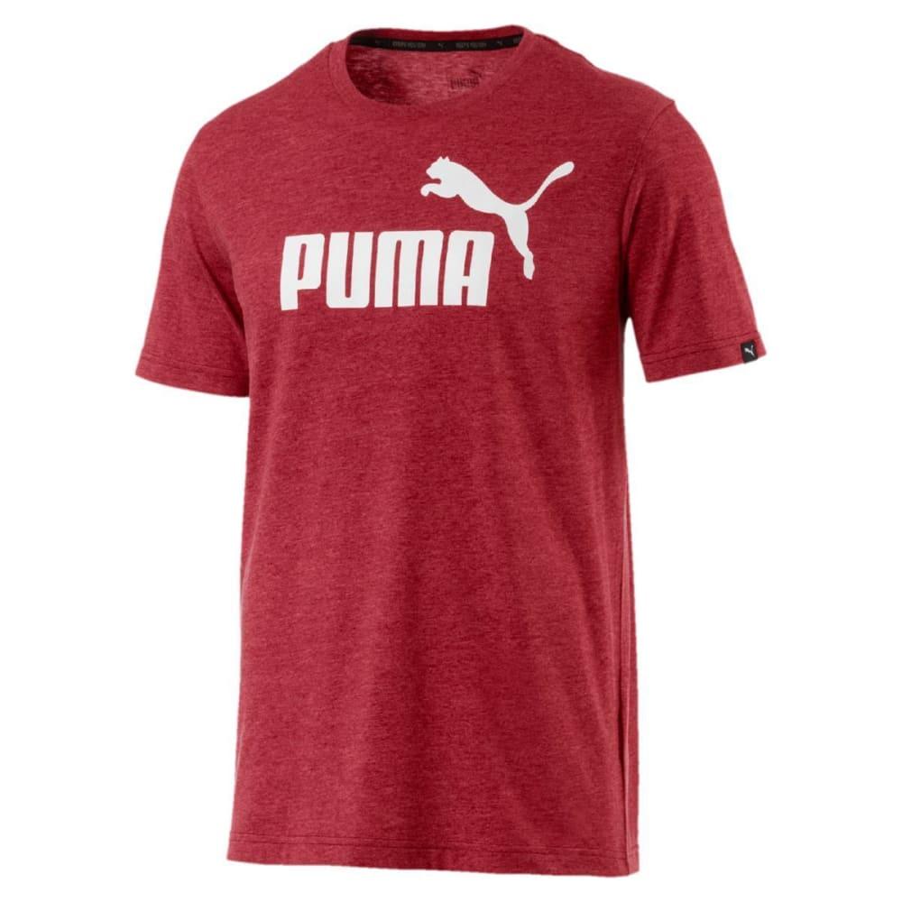 PUMA Men's No.1 Heather T-Shirt - RED DAHLIA-89