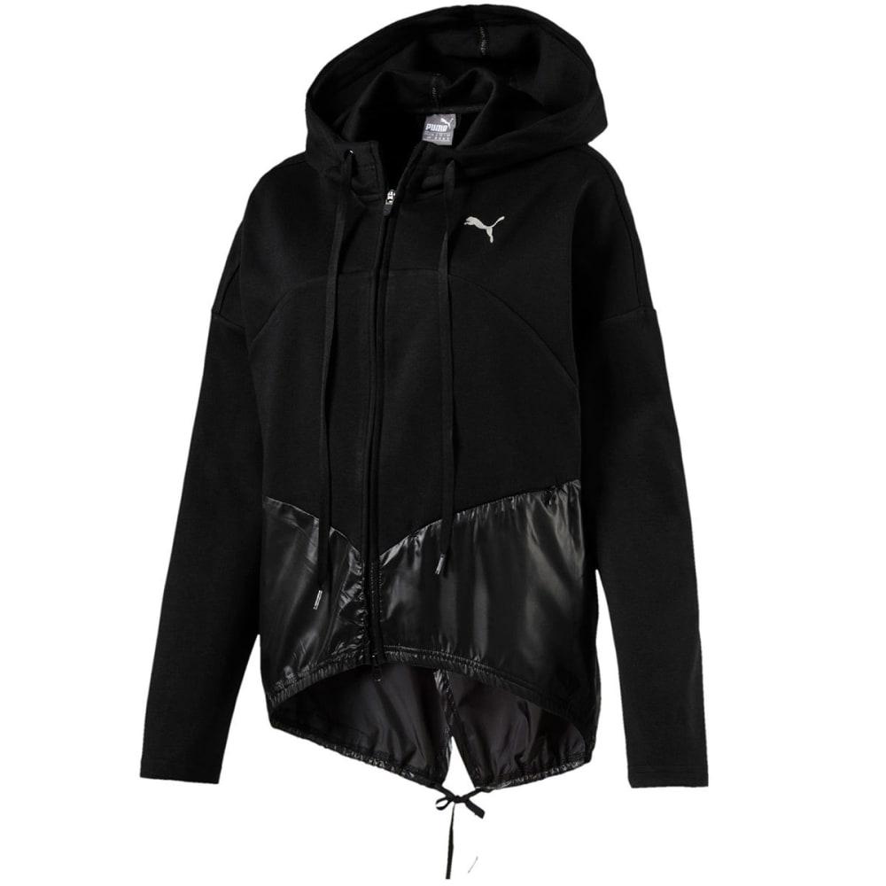 PUMA Women's Transition Full-Zip Hoodie - BLACK-01