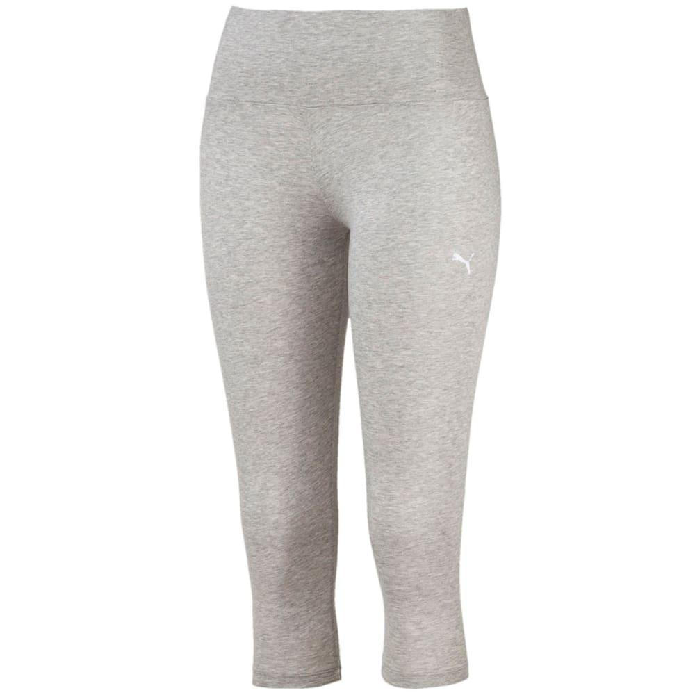 PUMA Women's Athletic ¾-Length Leggings - BLACK/PINK-04