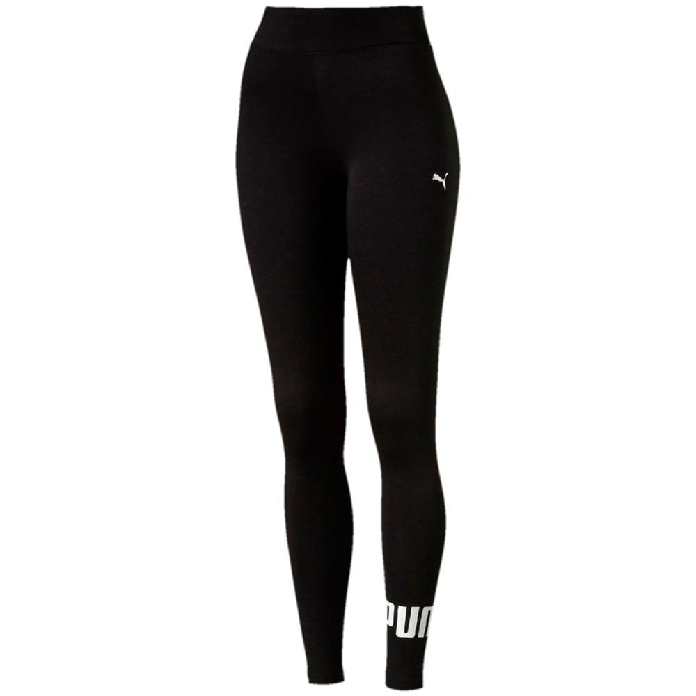 Puma Women's Style No.1 Logo Leggings - Black, S