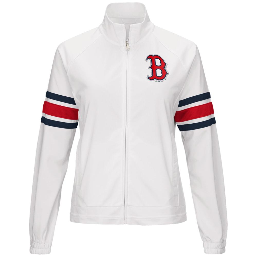 BOSTON RED SOX Women's Game Score Full-Zip Jacket - WHITE