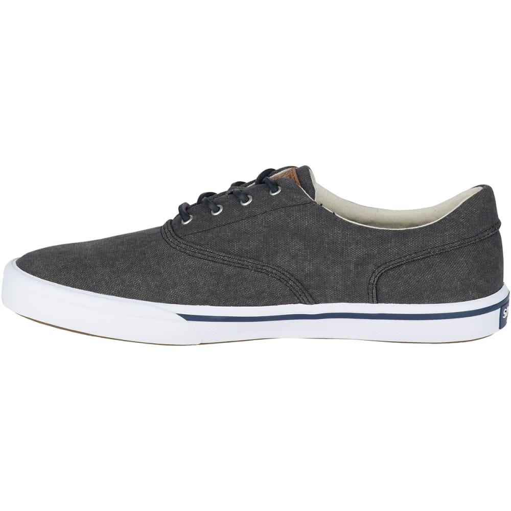 SPERRY Men's Striper II Salt Washed CVO Boat Shoes - BLACK