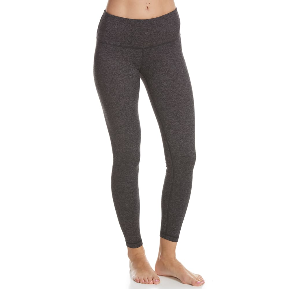 YOGALICIOUS Women's High-Waist Leggings - CHARCOAL