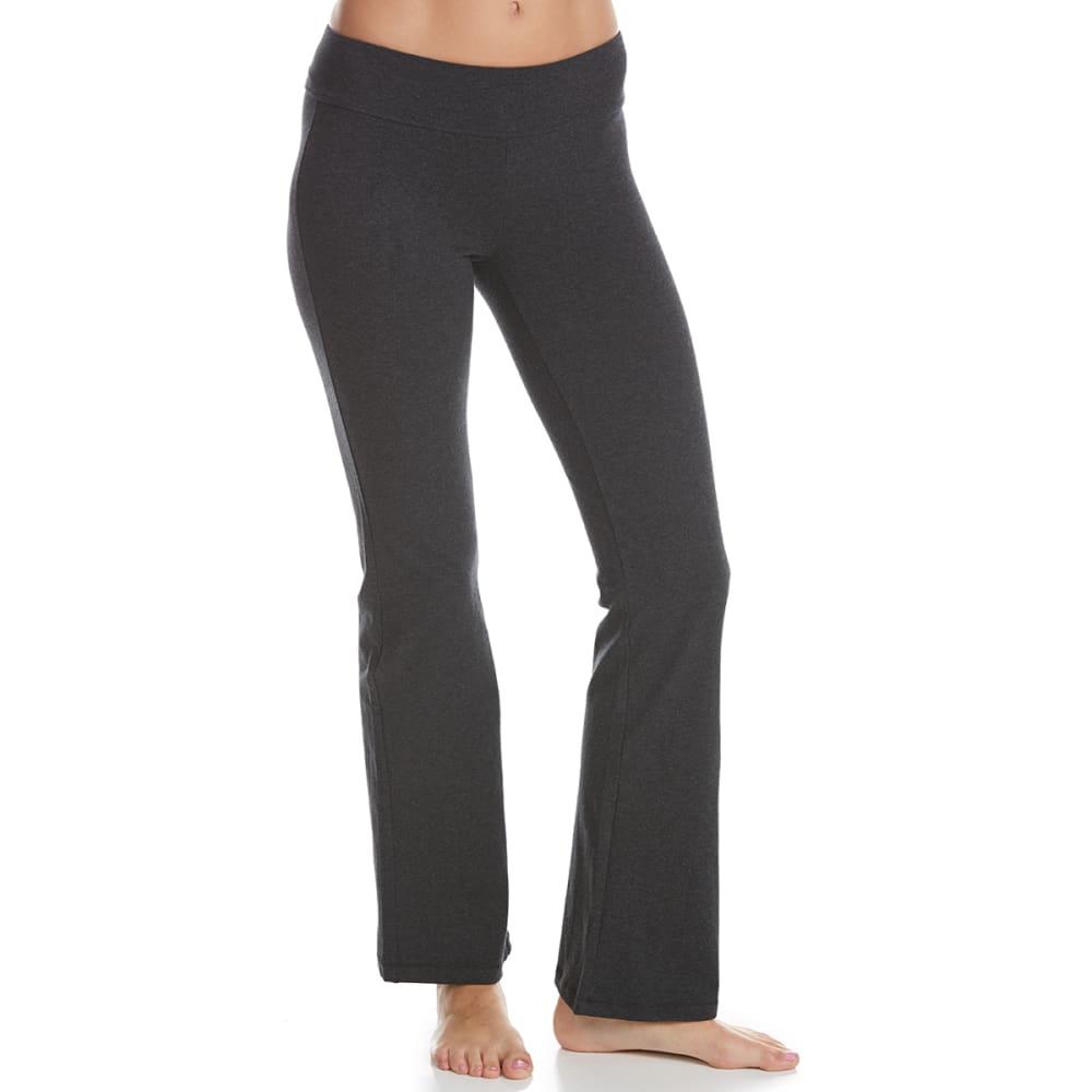 90 DEGREES Women's Bootcut Yoga Pants - CHARCOAL