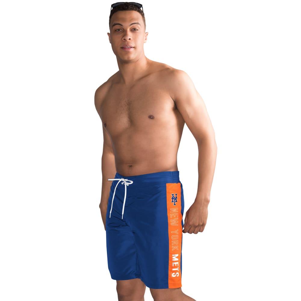 NEW YORK METS Men's Home Run Swim Trunks - ROYAL BLUE
