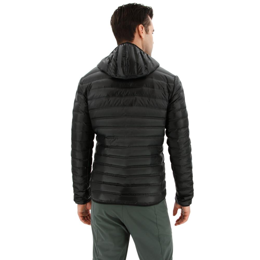 ADIDAS Men's Varilite Hooded Down Jacket - BLACK