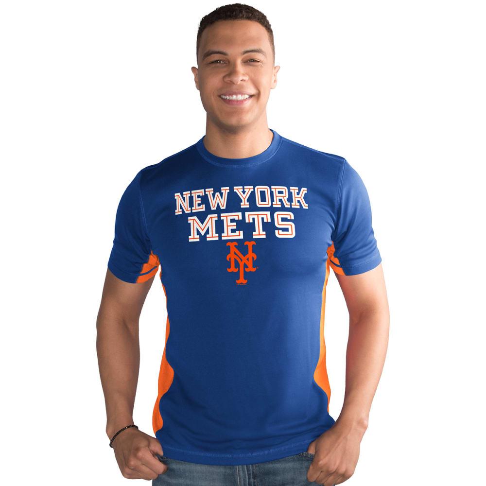 NEW YORK METS Men's Hands High Playmaker Short-Sleeve Tee - ROYAL BLUE