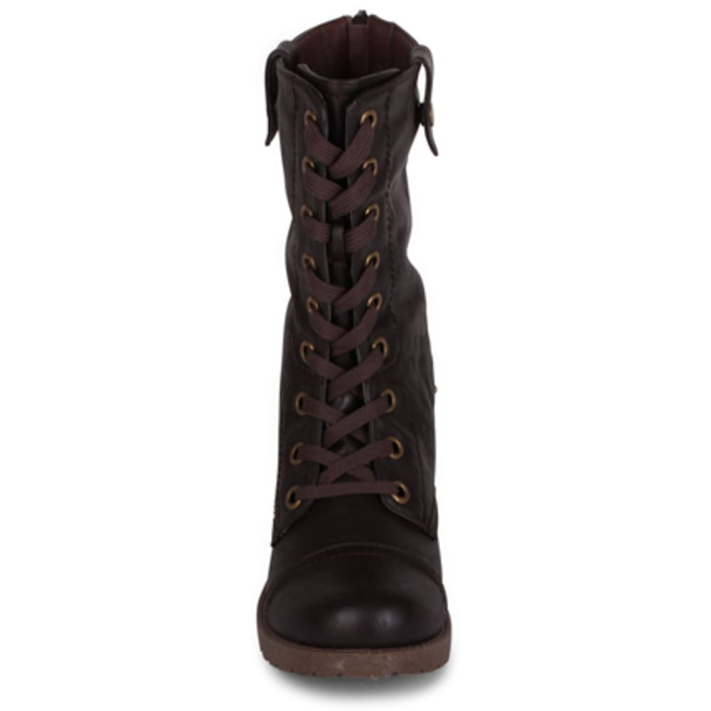 WANTED Women's Colorado Combat Boots, Brown - BROWN