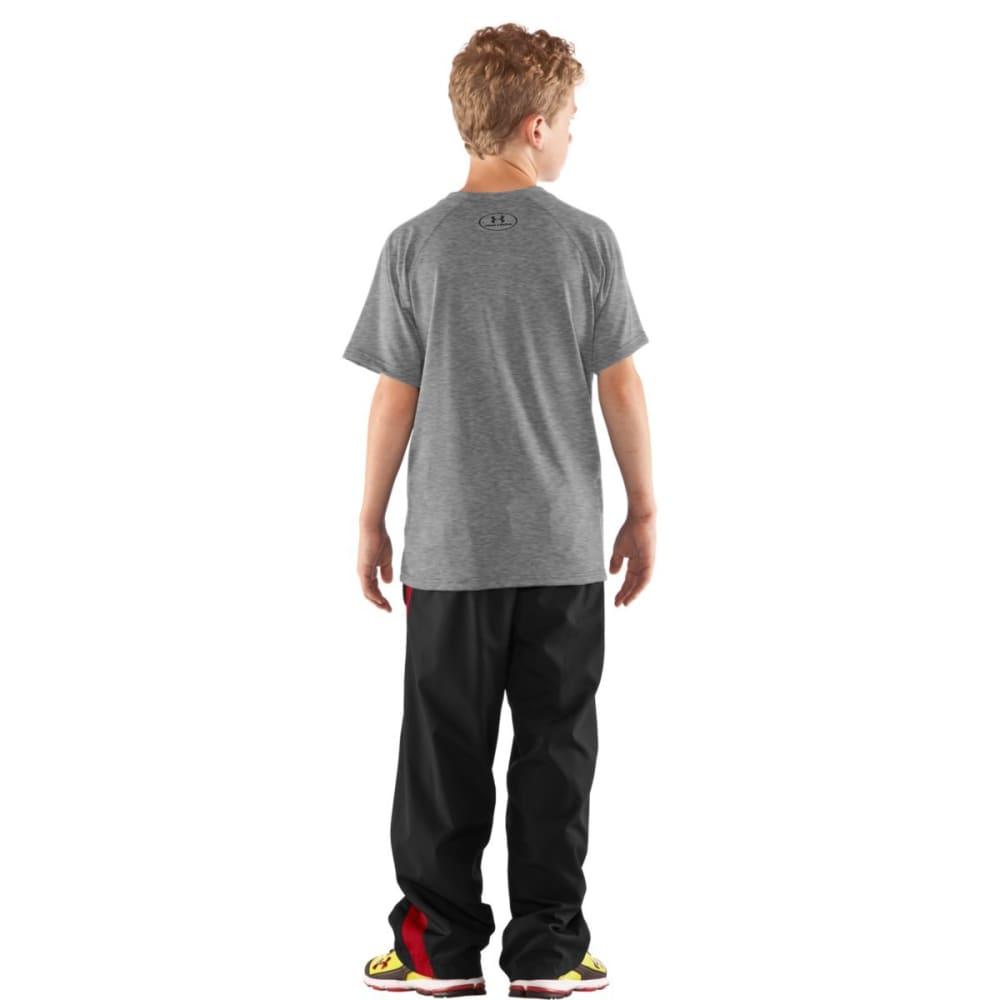 UNDER ARMOUR Boys' Locker Short Sleeve Shirt - GREY-025