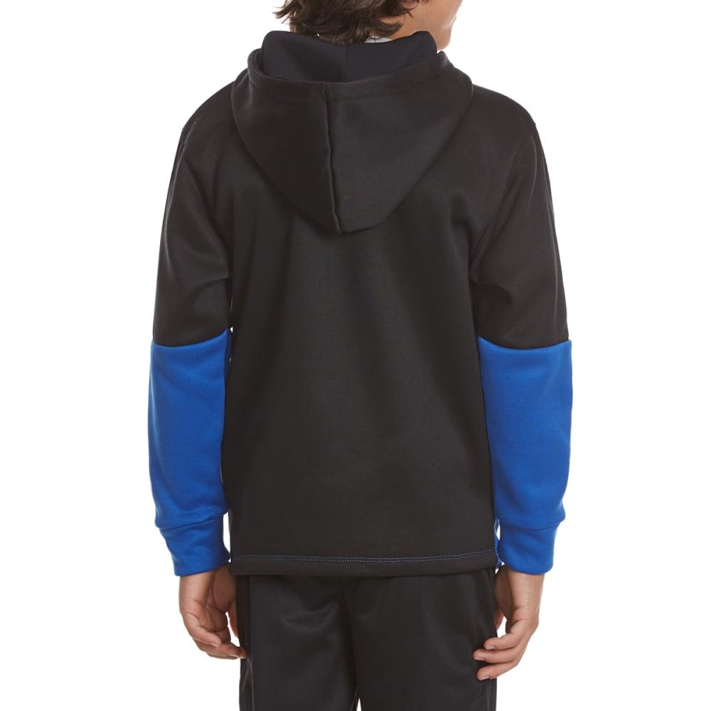 RBX Boys' Color Block Active Zip-Up Hoodie - POWER BLUE
