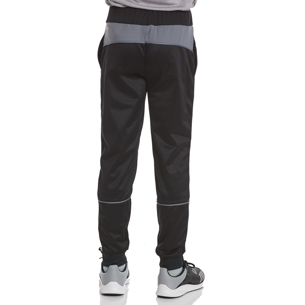 RBX Boys' Defender Tricot Jogger Active Pants - MIDNIGHT W/ GREY
