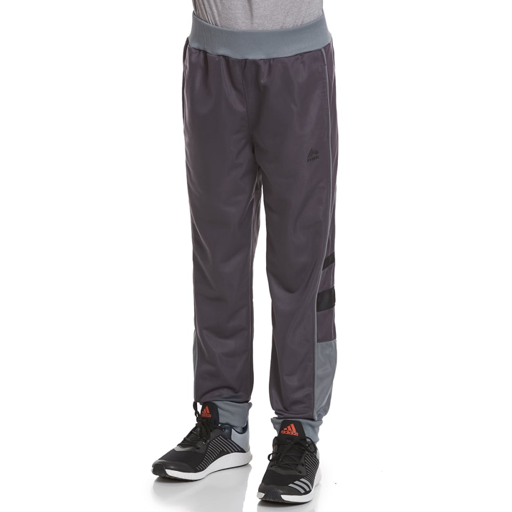 RBX Boys' Defender Tricot Jogger Active Pants - NINE IRON W/ GREY