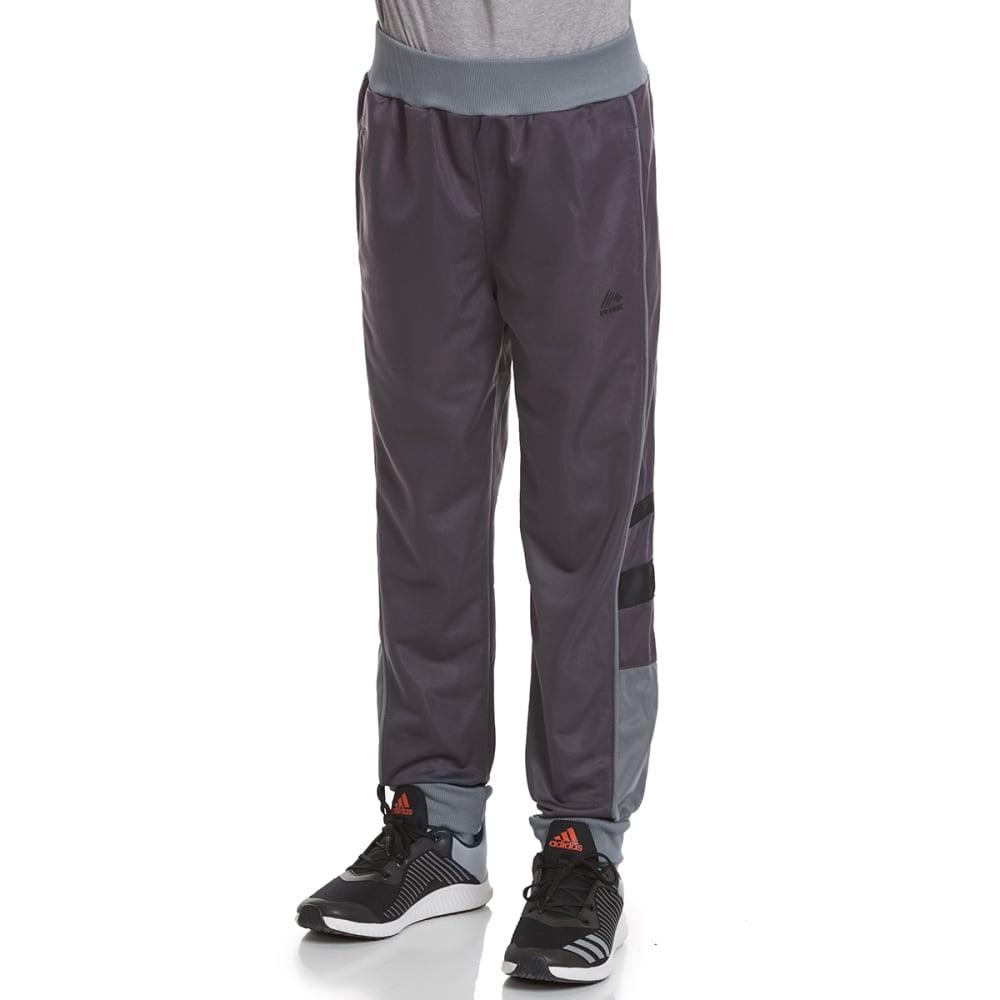 RBX Boys' Defender Tricot Jogger Active Pants - NINE IRON W/ GREY