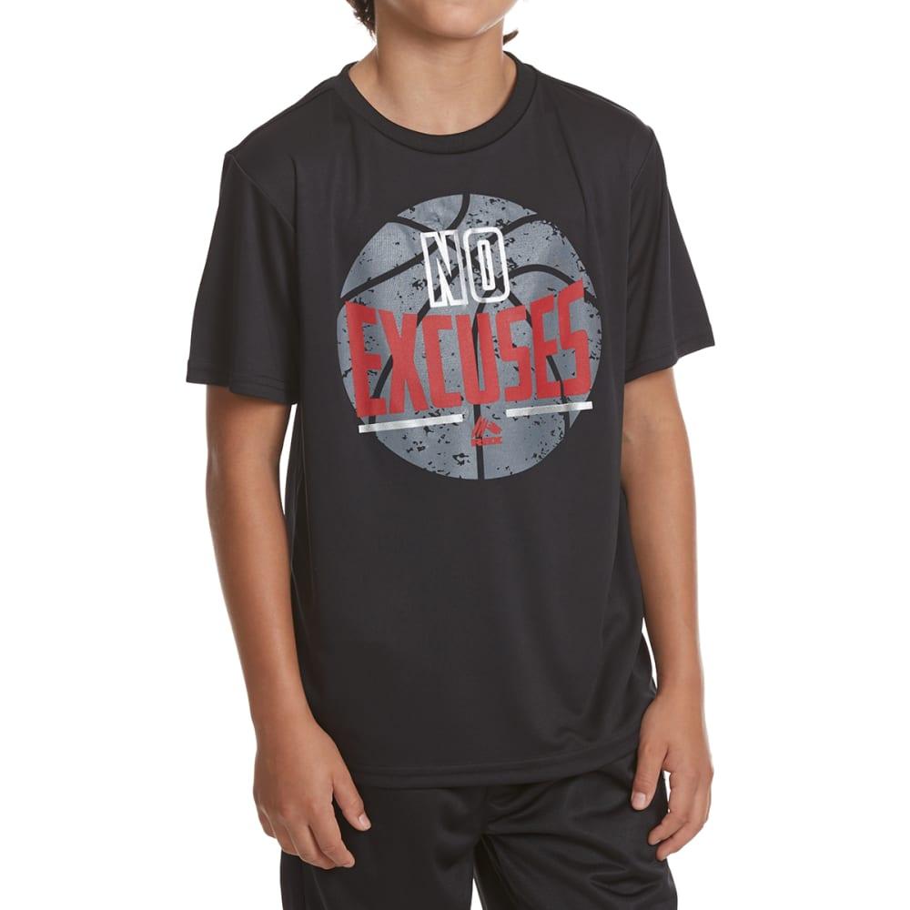 RBX Boys' No Excuses Active Short-Sleeve Tee - MIDNIGHT