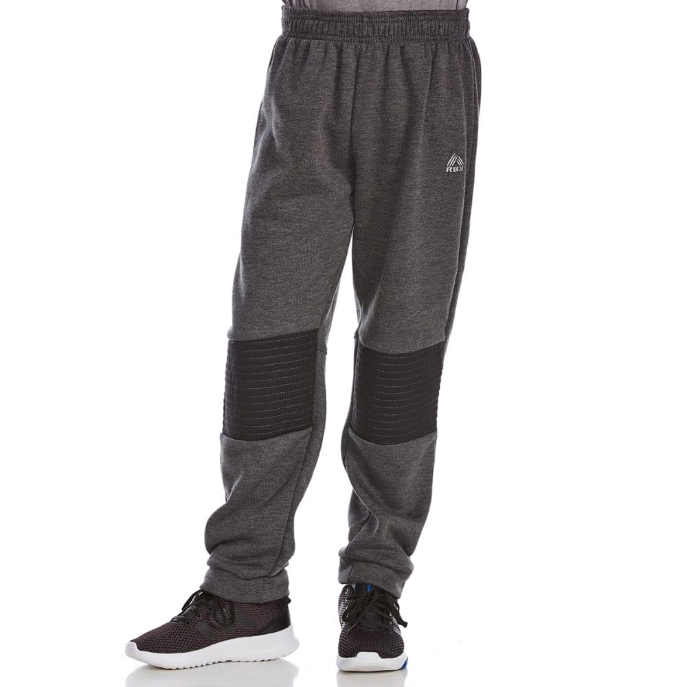 RBX Big Boys' Active Pants - CHARCOAL HTR/MDNT