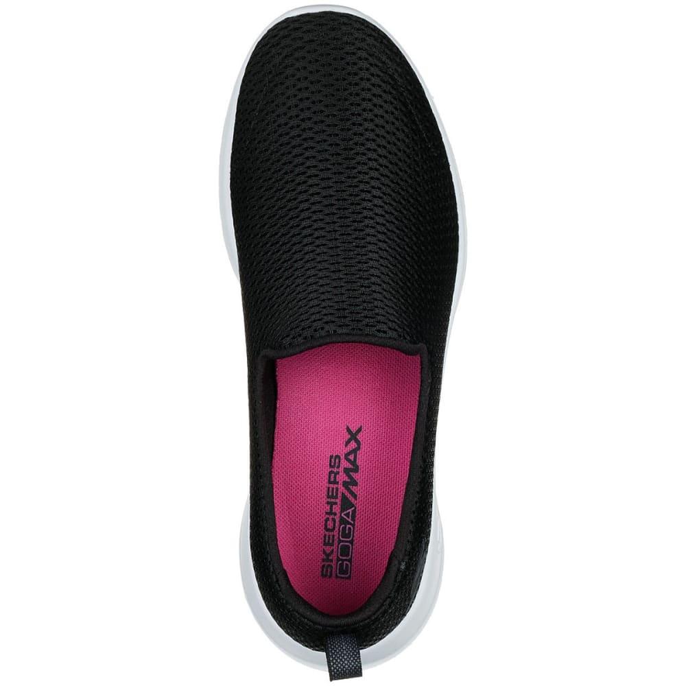 SKECHERS Women's GOwalk Joy Casual Slip-On Shoes - BLACK/WHITE