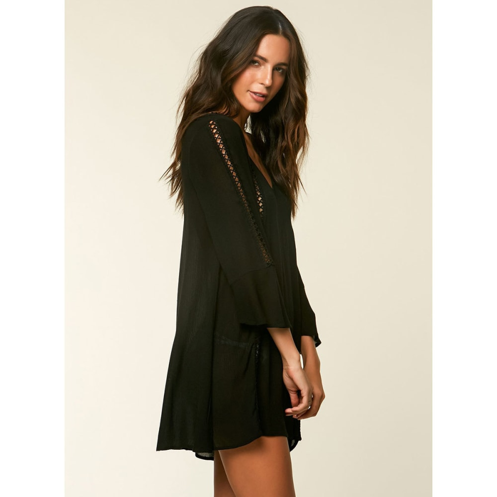 O'NEILL Women's Estella Swim Cover-Up - BLK-BLACK