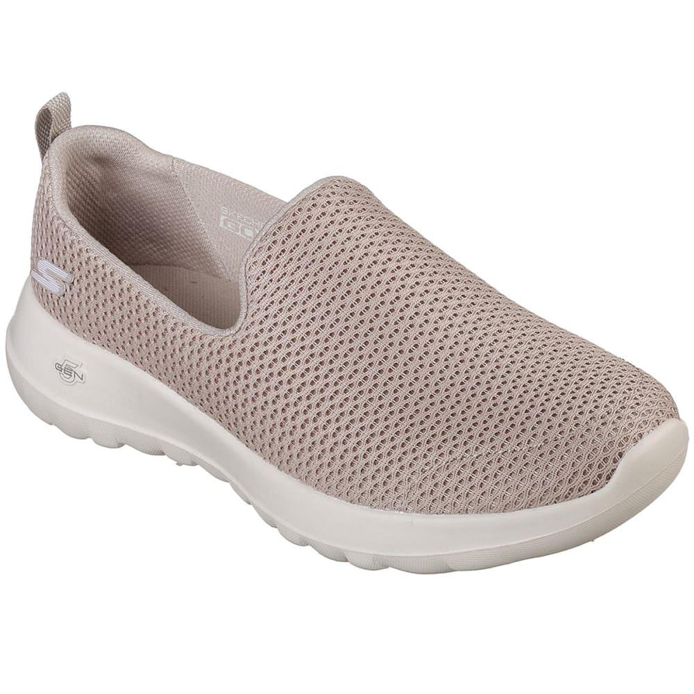 SKECHERS Women's GOwalk Joy Casual Slip-On Shoes - TAUPE