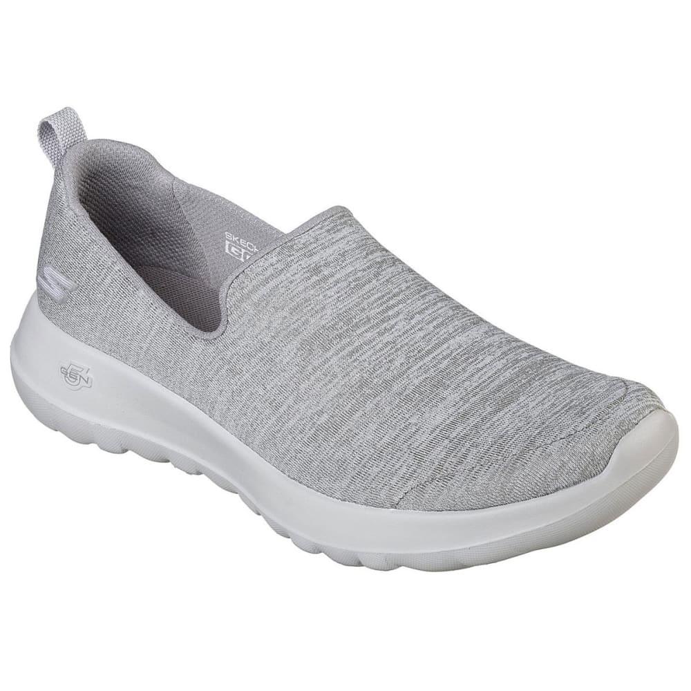 """Skechers Women's Gowalk Joy """""""" Enchant Casual Slip-On Shoes - Black, 6.5"""