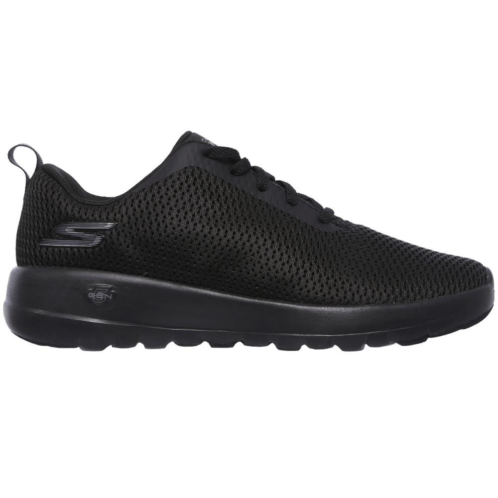 SKECHERS Women's GOwalk Joy  Paradise Sneakers, Wide - BLACK