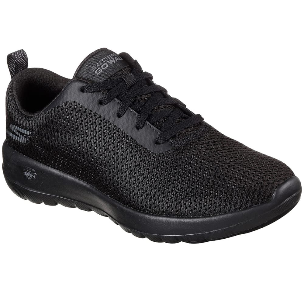SKECHERS Women's GOwalk Joy  Paradise Sneakers, Wide - BLACK