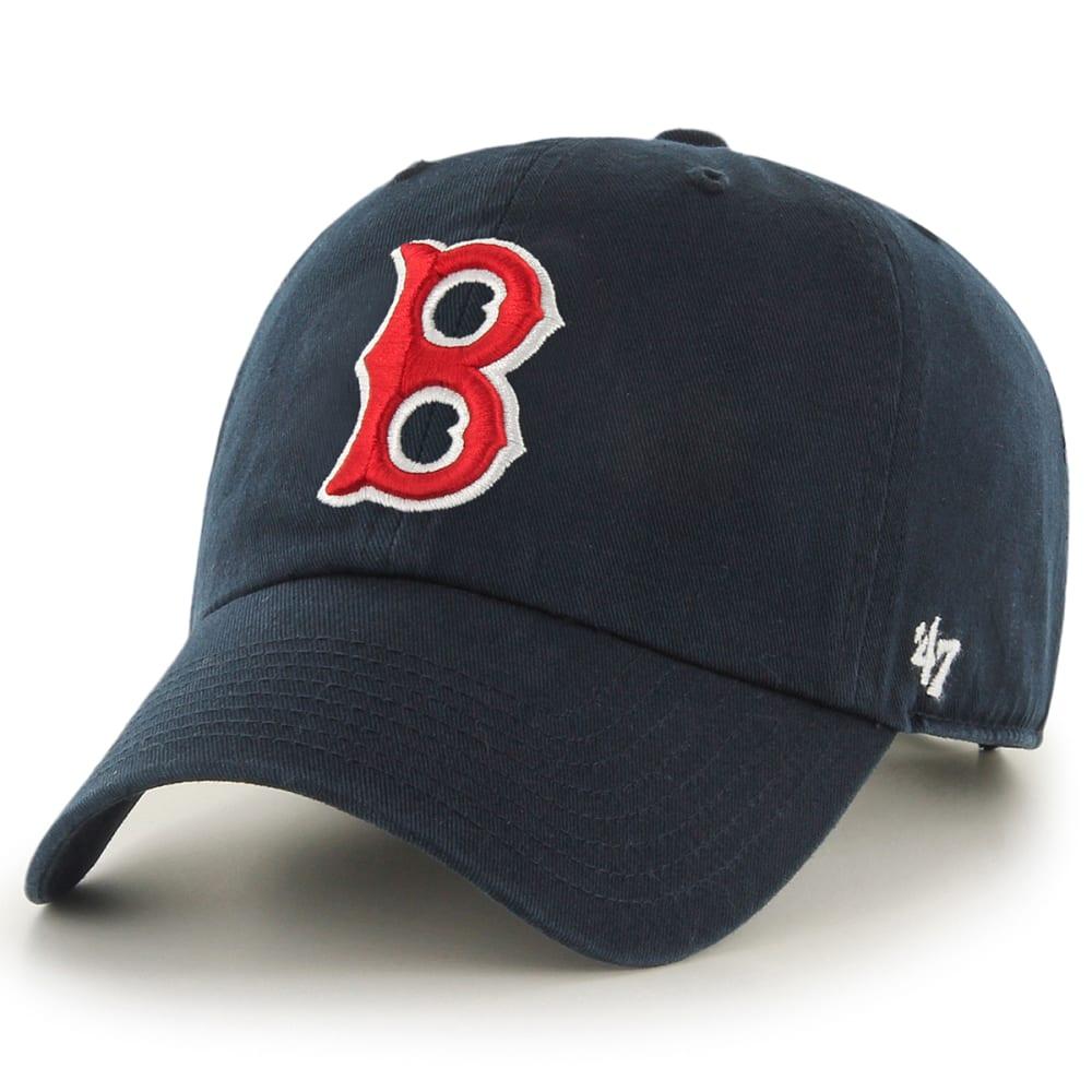 BOSTON RED SOX Men's Cooperstown '47 Clean Up Adjustable Cap - NAVY