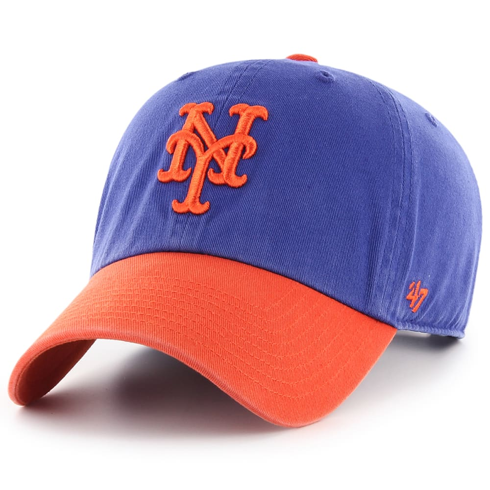 NEW YORK METS Men's Two-Tone '47 Clean Up Adjustable Cap - ROYAL BLUE