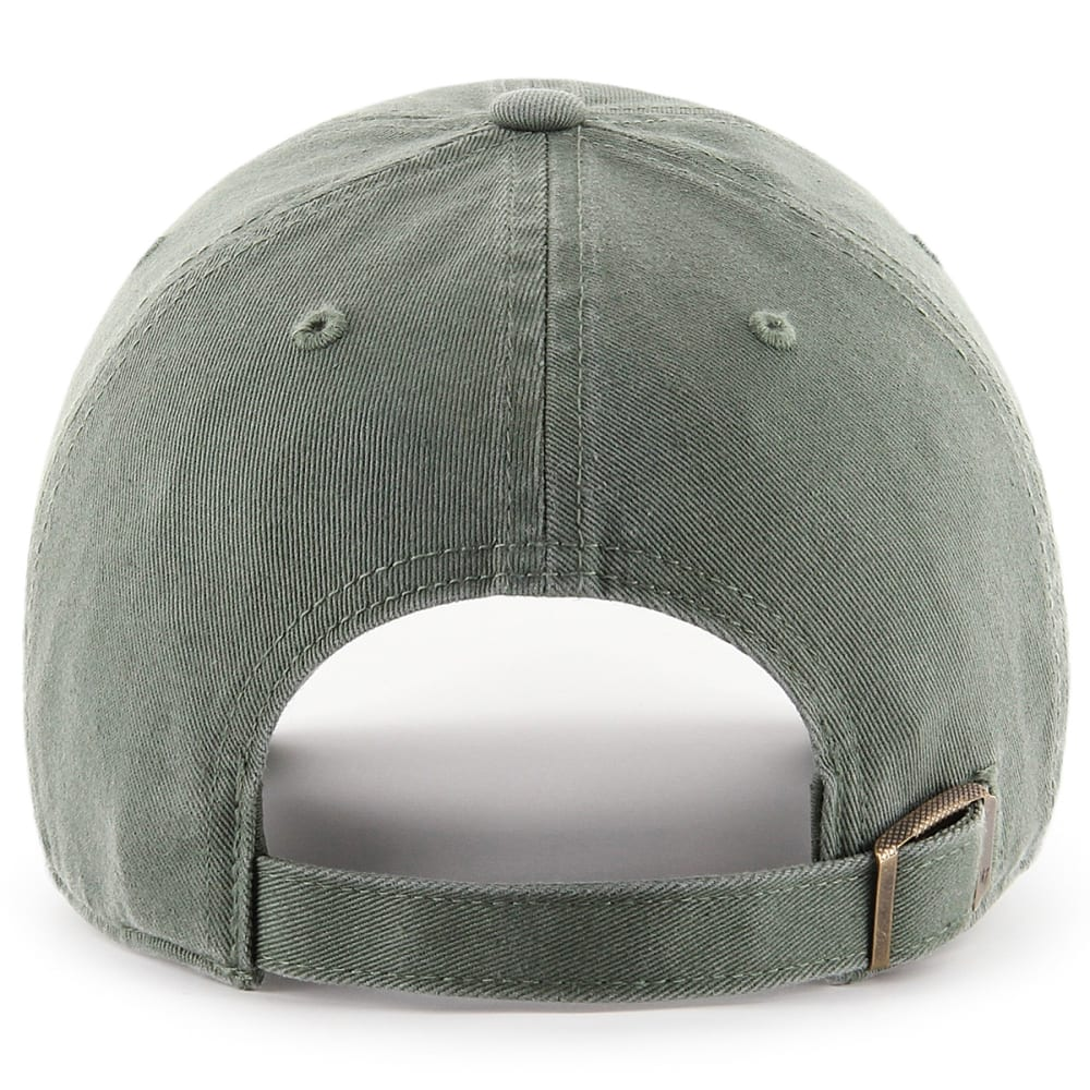BOSTON RED SOX Women's '47 Clean Up Adjustable Cap, Moss - OLIVE GREEN