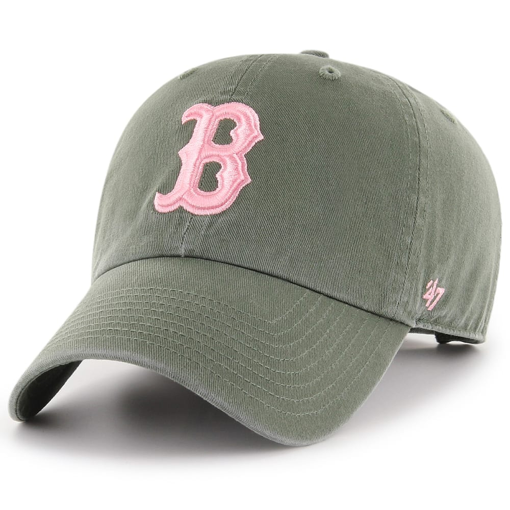 BOSTON RED SOX Women's '47 Clean Up Adjustable Cap, Moss ONESIZE