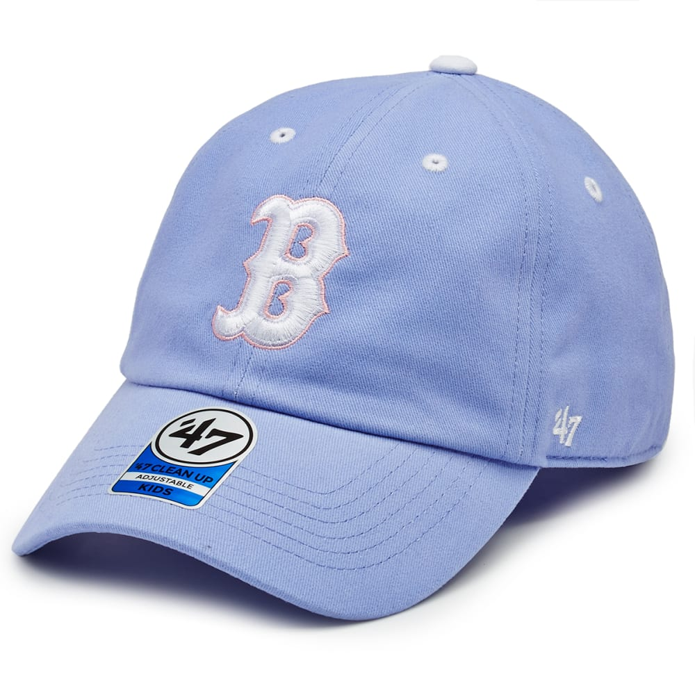 BOSTON RED SOX Girls' Riley €˜47 Clean Up Adjustable Cap - LILAC
