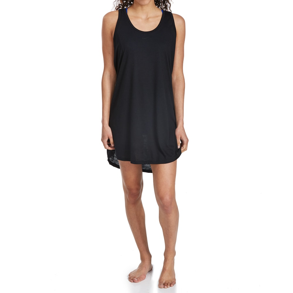 BALANCE COLLECTION BY MARIKA Women's Racerback Swim Cover-Up - 001-BLACK